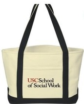 Latino/a Social Work Caucus is selling totes.