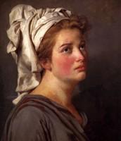 Ritratto di giovane donna con turbante, David, ?