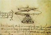 Da Vinci's Drawing of the Helicopter