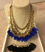 Plume Necklace $69