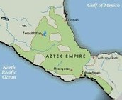 Map of Aztec empire