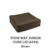 Your Way Junion Cube Lid in Brown