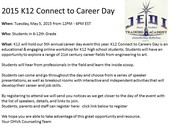 Join us for Career Day 5/5/15