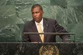 Caribbean leaders, at UN Assembly, decry new financial rules; stress UN role in development