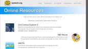 Online Resources (under Curriculum)