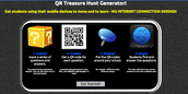 QR Treasure Hunt Generator