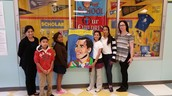 Saldivar ES Students Express Thanks for Trustee Solis Through Art
