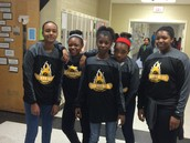 7th grade basketball ladies!
