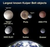 Objects from Kuiper Belt