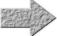 a stone arrow