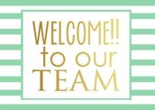 A BIG WELCOME to our August New Consultants!