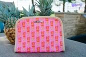 Pineapple Beauty Bag $25