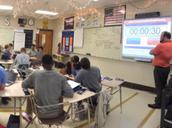 Mr. Searels in AP Computer Science