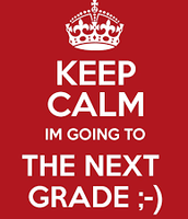 Going to the next grade