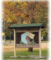 Cotati Welcome Sign