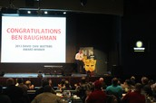 "2013 David ""Dan"" Watters Award Winner - Ben Baughman"