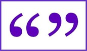 ^What a quotation marks looks like^