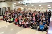 James Weber (from Mke Torrent) visits 4th Grade!