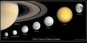 Saturn's Moon's