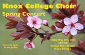 Knox College Choir Spring Concert