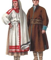 Poland traditional clothing
