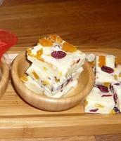 White Chocolate Festive Fudge