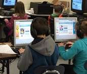 4th Graders ready to create Voki book reviews