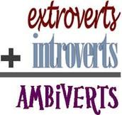 Introvert, Extrovert, or Ambivert?