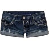 pantalones cortos para mujer