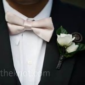 Groom and Attendant Boutonnieres