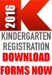 Spread the Word~ Kindergarten Registration Begins April 1