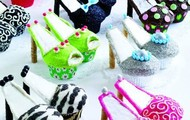 schoenen cupcakes