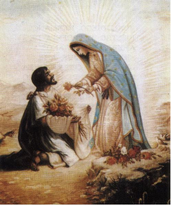 Our Lady of Guadalupe visits Juan Diego