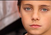 14 old sad boy acting as dodge
