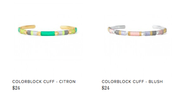 Cute colorful bangles for $24