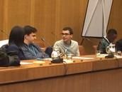אלון צרויה- נציג הנוער ממקיף ט' אשדוד בוועדת האום לענניני סמים