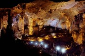 Large cavities in the cave!