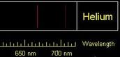 Helium Spectrum (Emission)