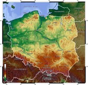 Climate and geography of Poland