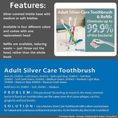 Adult Silver Care Toothbrush