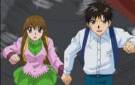 Megumi Oumi y Kiyo Takamine