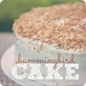 Taste our charismatic hummingbird cake!