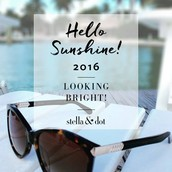 Congratulations on Earning the 'HELLO SUNSHINE' Sunglasses (by selling 1500PQV in Jan)