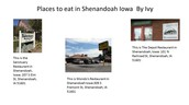 Places to eat in Shenandoah, Iowa