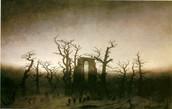 Caspar David Friedrich (1774 - 1840) Abbey in the oakwood