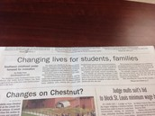 SWECC was featured in the Newspaper for recent accomplishments!