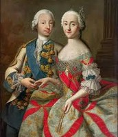Catherine the great with Peter the great