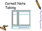 Cornell Note Close Read