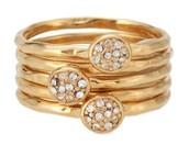 Paloma Stacked Ring - Size 6