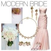 Modern bride or mother of the bride